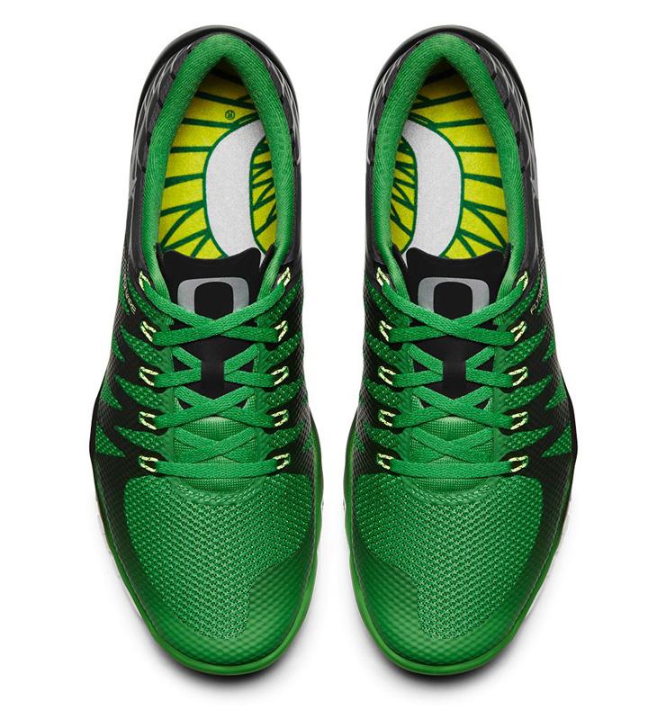 0bbaf5ece2d7 Nike Free Trainer 5 V6 Oregon Ducks