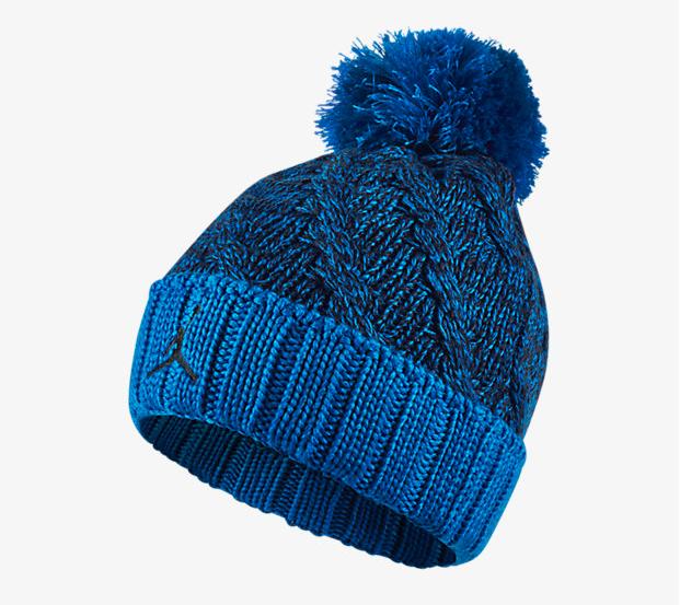 81e079bcc7d483 ... discount code for jordan jumpman cable knit hat blue 7bc4e 5ab23 ...