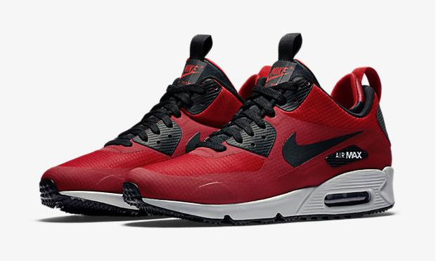 """f3c2743fa2 Nike Air Max 90 Mid Winter """"Gym Red/Wolf Grey/Black"""""""