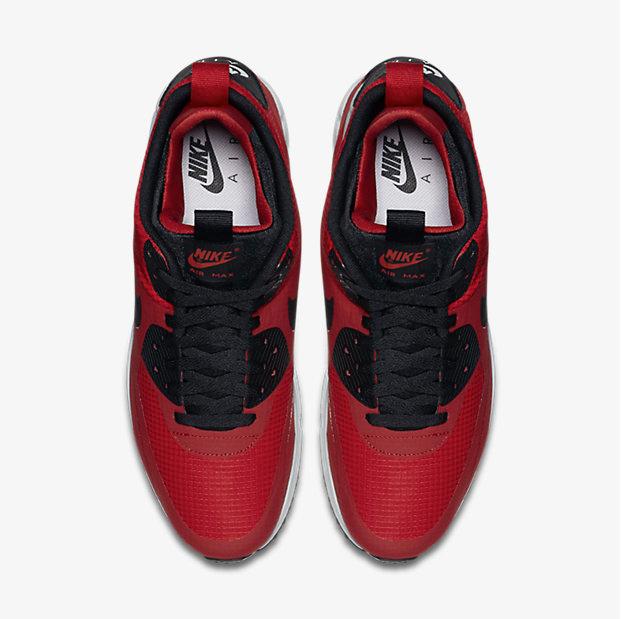 69b89e06b1 Nike Air Max 90 Mid Winter Gym Red | SportFits.com