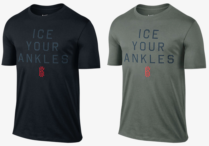 4800675d Nike Kyrie Ice Your Ankles Shirt | SportFits.com