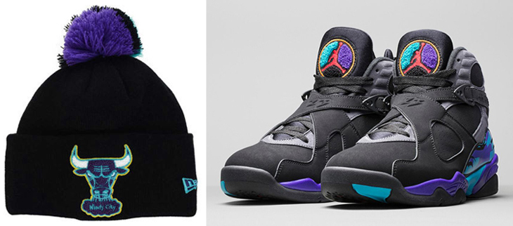 New Era Jordan 8 Aqua Knit Hat Beanies  147c277c9f2
