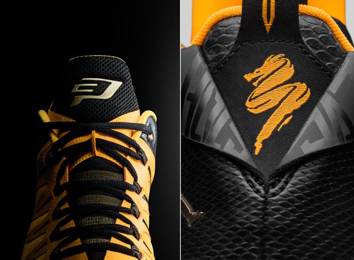 dc060e0645787c Jordan CP3 9 Yellow Dragon Clothing and Shoes