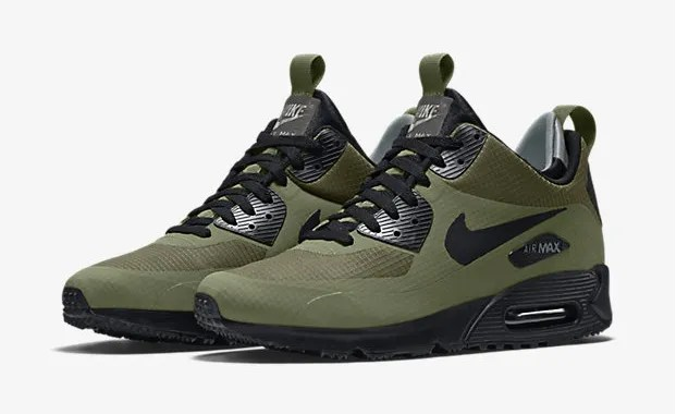 finest selection 28b7e f644a nike air max 90 mid winter green