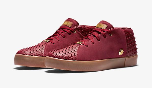 07aa0d7f3cf0 Nike LeBron 13 Lifestyle Team Red Gum Gold