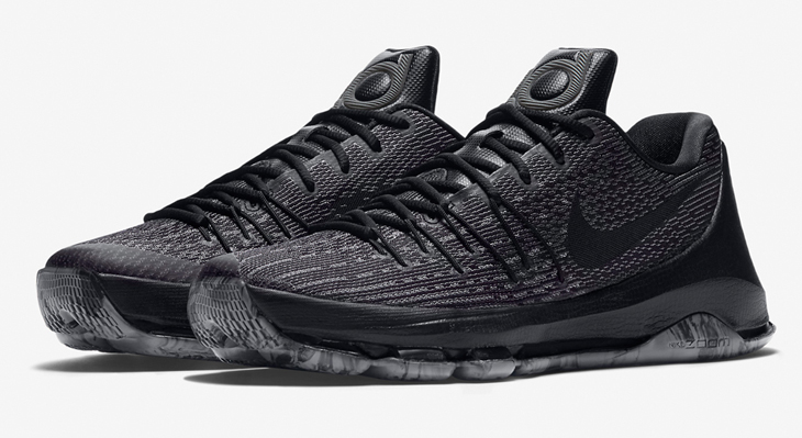 best sneakers 2bad3 17d68 ... coupon code nike kd 8 triple black 59009 0e741