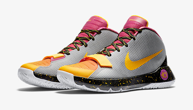 sports shoes 998df 2abe2 ... where can i buy nike kd trey 5 iii limited silver orange 92055 a54db