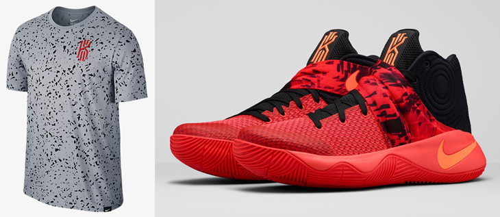 """finest selection 36bc3 9417b Nike Kyrie 2 """"Inferno"""" T-Shirt"""
