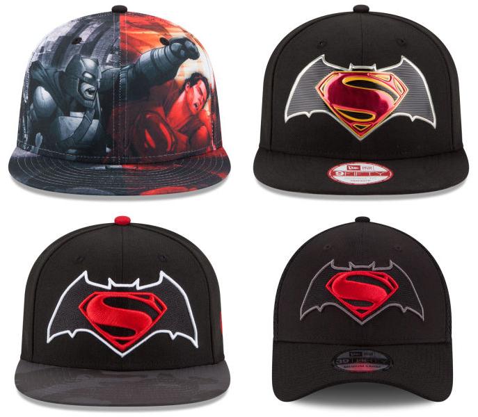 3605fbb697a New Era Batman vs Superman Hats
