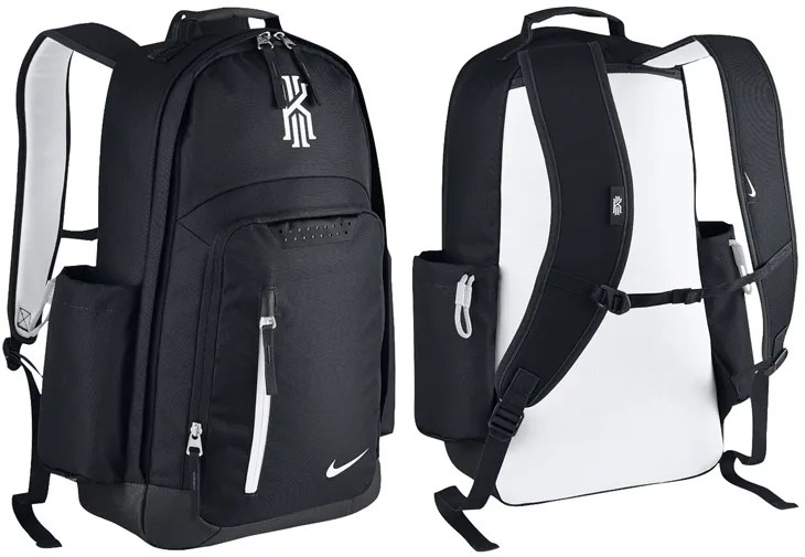 7b18b143884e Nike Kyrie Backpack Black White