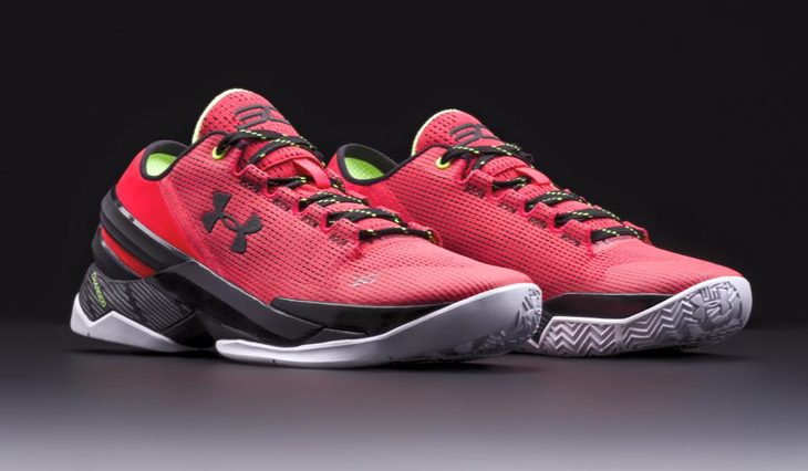 Under Armour Curry Two Low Energy Rocket Red  898a859a7d56