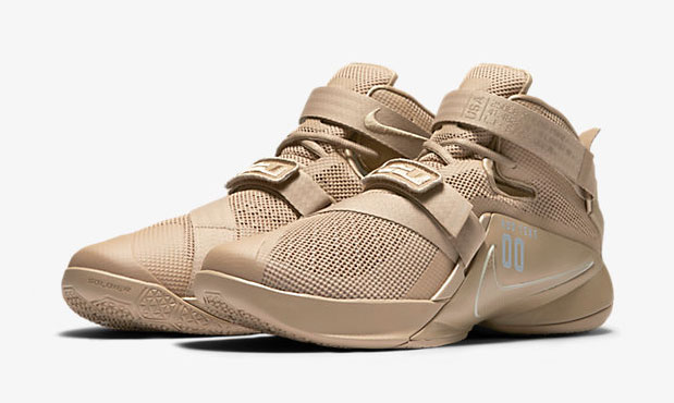 "new concept 70520 2be93 Nike LeBron Soldier 9 ""Desert Camo"""