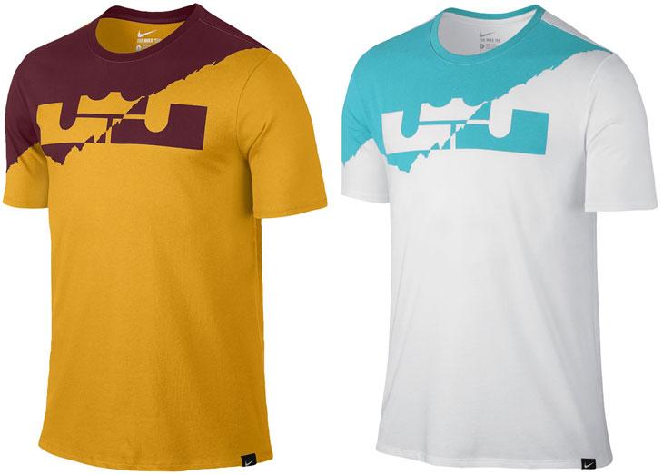 best cheap 6a103 c615a Nike LeBron Split Crown Shirt New Colors   SportFits.com