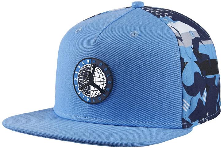 c67e2505cfd Air Jordan 9 Low Pantone University Blue Hat