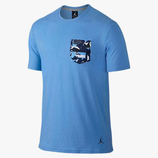 d64c9fcb308 Air Jordan 9 Low Pantone University Blue Shirts | SportFits.com
