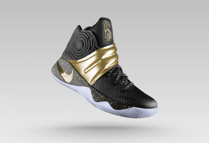 Nike Kyrie 2 Championship Gold on NIKE
