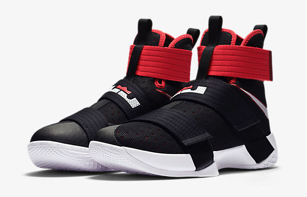 timeless design dce56 f98f1 ... where to buy nike lebron soldier 10 black red white 1 6fb03 c2bca