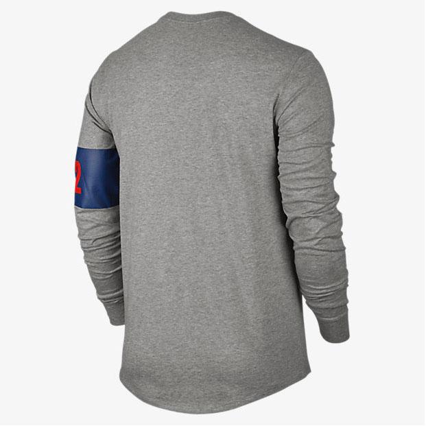 Air jordan 7 olympic 92 long sleeve shirt for 92 dream team t shirt