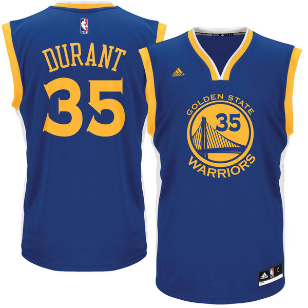 timeless design 8dc24 f813b Kevin Durant Golden State Warriors NBA Jersey and Shirts ...
