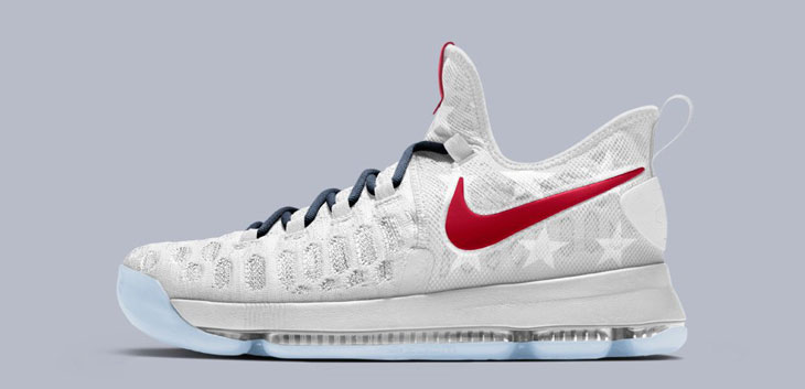 the latest ce654 0d433 ... sweden nike kd 9 id country flag 35749 1f63d
