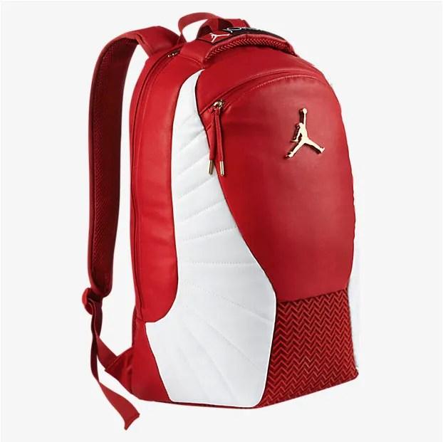 "1a444963b595e5 Air Jordan 12 ""Gym Red"" Backpack"