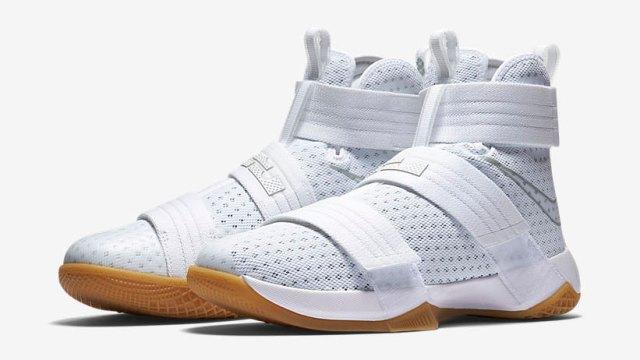 super popular ce392 74c21 Nike LeBron Soldier 10 White Gum | SportFits.com