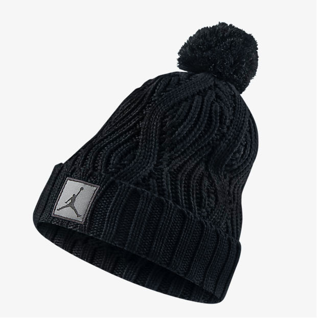 09828624f5f Jordan Jumpman Cable Pom Knit Hat