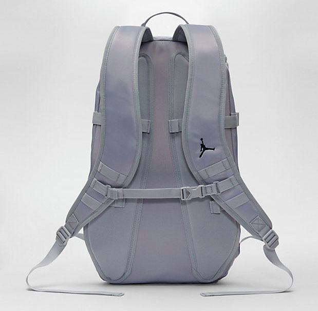 3e2c718e4a4599 Jordan Sportswear Top Loading Backpack Wolf Grey Black
