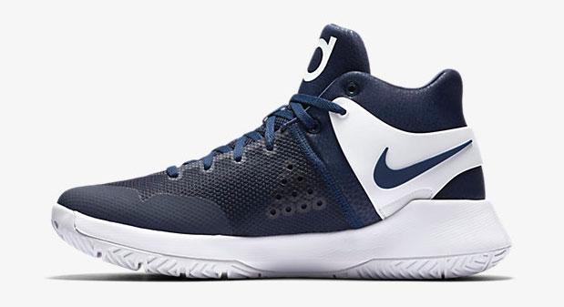 c86bacee2f59 Nike KD Trey 5 IV Team Navy White