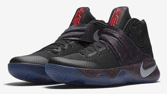 "fe8b419ce08 Nike Kyrie 2 ""Black Bright Crimson"""