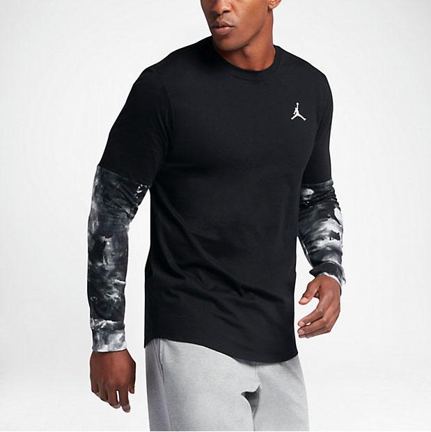 89812b1243e Jordan Clouded Nightmares Long Sleeve Shirt | SportFits.com