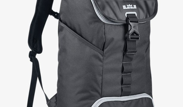 "0fcb37fce44f0 Nike LeBron Ambassador Max Air Backpack ""Anthracite/Black/Grey"""