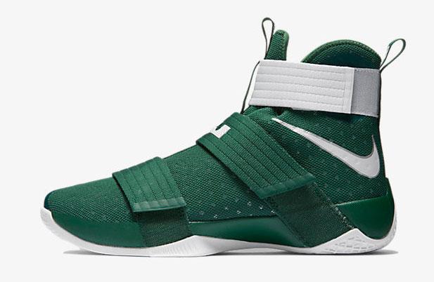 Nike LeBron Soldier 10 Team Green