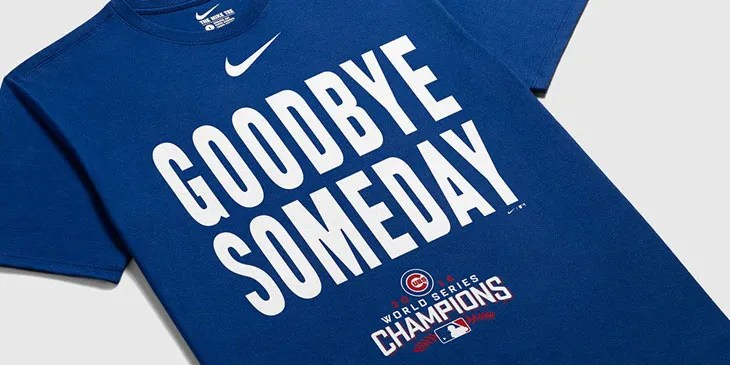 d7a4aa05d Nike Chicago Cubs 2016 World Series Champion Shirts