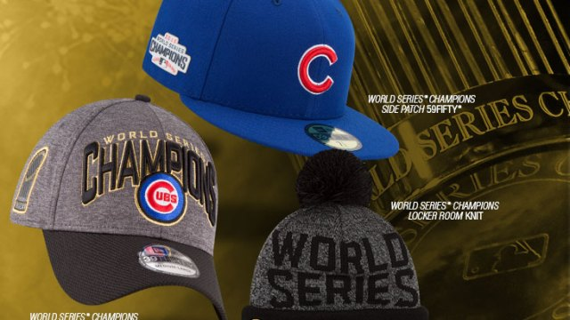 new-era-chicago-cubs-world-series-champion-hats 00c1bcc8714