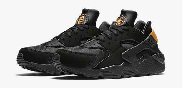 Nike Air Huarache Black Gold