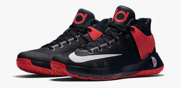 0899126f435d3 Nike KD Trey 5 IV Red Black Grey