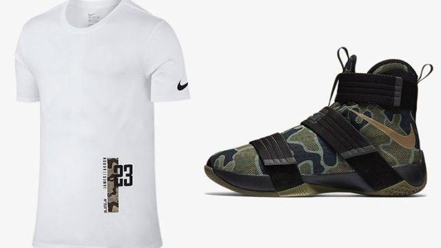 the latest 26ed1 7ecfc Nike LeBron Camo Shirt | SportFits.com
