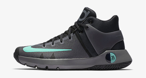 "best cheap 2ab92 41215 Nike KD Trey 5 IV ""Black Grey Green Glow"""