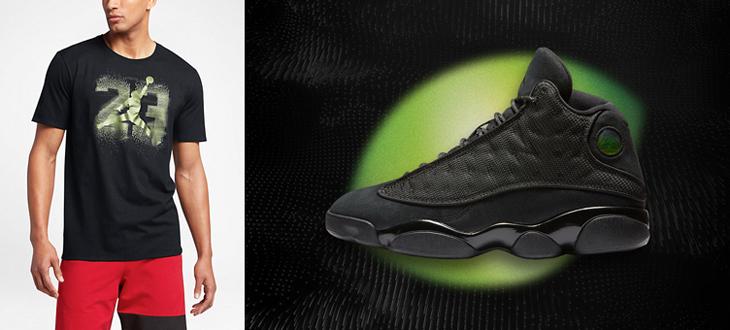 hot sale online 90dbe b7da9 ... true red countdown pack  air jordan 13 black cat tee 1