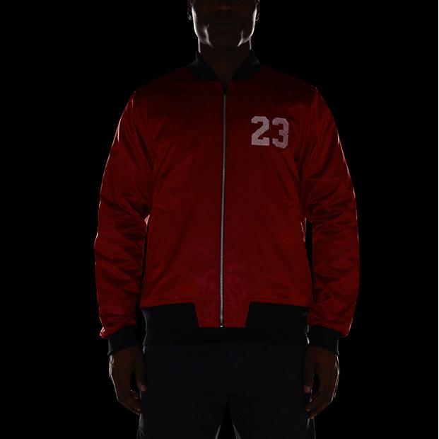 4b86803a99f Air Jordan 6 Bomber Jacket Red Black | SportFits.com