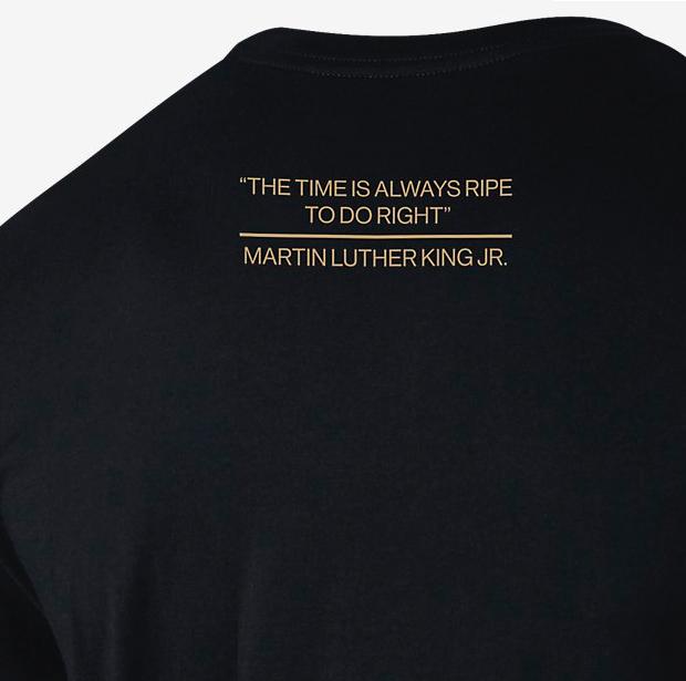"9e8564c464fc19 Jordan RE2PECT ""MLK"" T-Shirt"