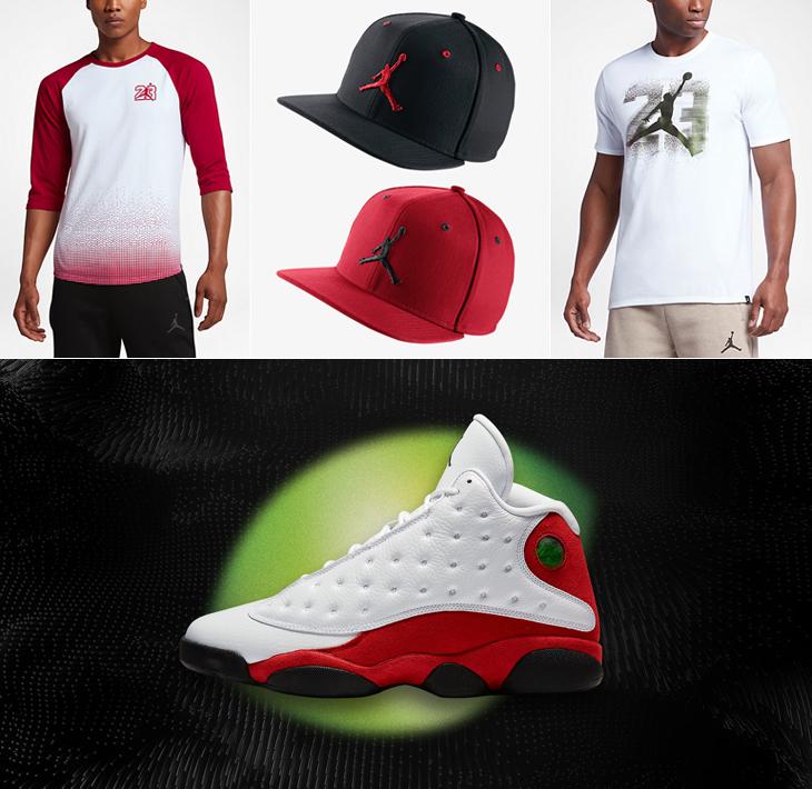 3a37609c99af Clothing to Match Air Jordan 13 Chicago