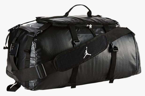 Jordan Black Duffel Gym Bag 1