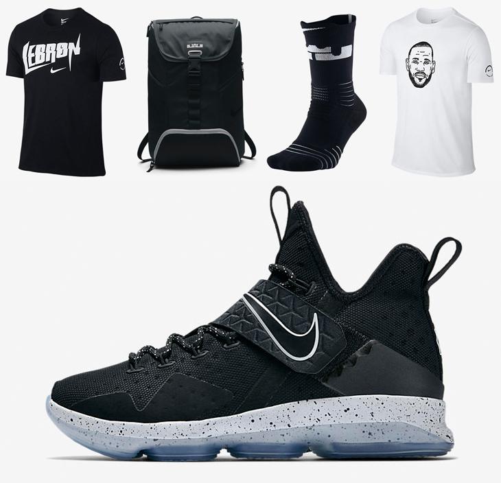 Nike LeBron 14 Chase Down Black