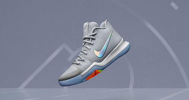 "best loved 1d4f8 7659d Nike Kyrie 3 ""Time to Shine"""