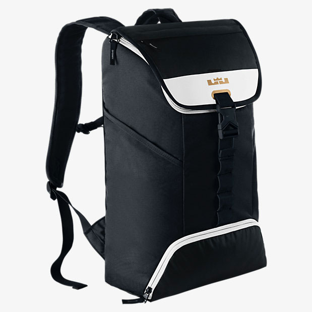 nike max air rucksack black