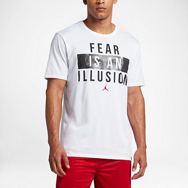 97fe6ba3f9d6 Jordan Fear is An Illusion Shirt