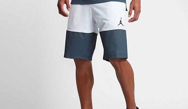 5fffc88bb043 Jordan Flight Lite Shorts (White Blue Fox)