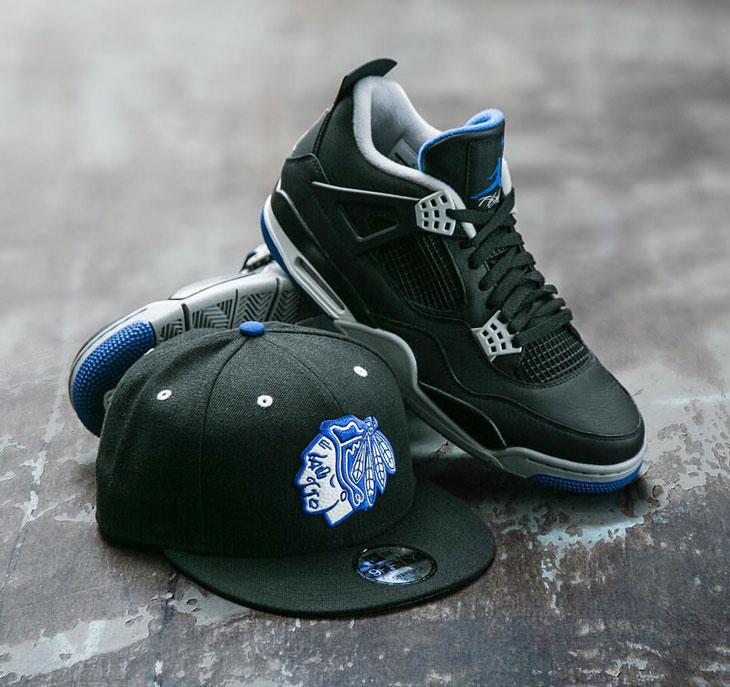 Jordan 4 Alternate Motorsport Chicago Hat Sneaker Match ...